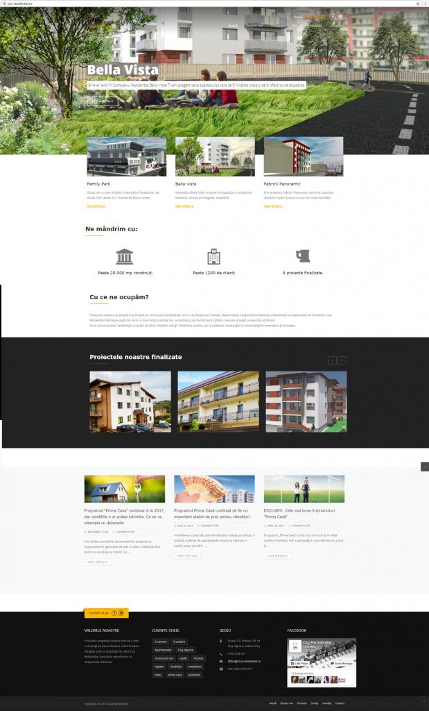 design web web design Cluj-Rezidential
